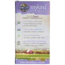 kind organics prenatal multi by garden of life is a natural prenatal multivitamin supplement that is made from nutritious whole foods order today