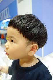 くせ毛を活かしてまぁるく優しい印象のツーブロック こども専門の