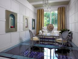 Inspiration for a mid-sized contemporary enclosed living room remodel in  Nashville with white walls
