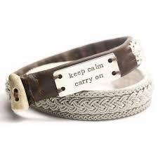 mens leather bracelets personalized bracelet stock view larger