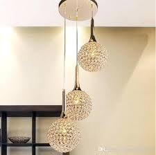 contemporary hanging lights modern 3 heads globe ball pendant lights sparkle crystal hanging lamps for dinning contemporary hanging lights