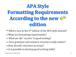 Apa Format Manual Infinite Use The Following Template Cite A Using