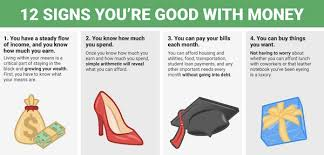 Infographic 12 Signs That Indicate Youre Good At Managing Your