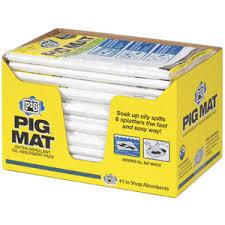 New Pig Medium weight absorbent mat pad Read Reviews on