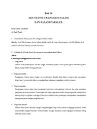 Kunci jawaban pengantar akuntansi 1 salemba empat edisi 4. Kunci Jawaban Buku Akuntansi Syaariah Wasilah Edisi4 Soal Komprehensif Peranti Guru