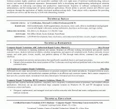 Download Computer Technician Resume