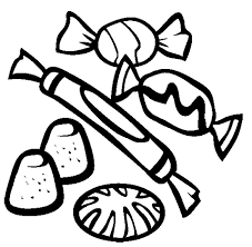Small Picture Assorted Candies Coloring Page Cookie Pinterest Candies and