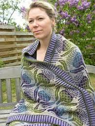 Thistle Knitting Chart Scottish Thistle Blanket Knitting Yarn Knitting