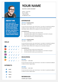 Powerpoint Resume Template Best Of Bayview Curriculum Vitae Para PowerPoint Pinterest Curriculum