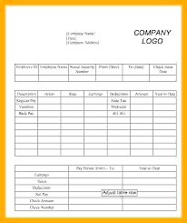 Paystub Excel Template 1099 Template Excel Template Excel Pay Stub Paycheck Form Int 1099