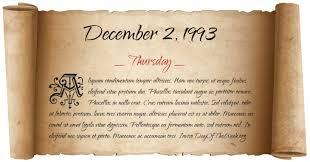 Image result for 2 december 1993