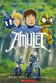 amulet eight book collection amulet kazu kibuishi