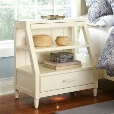 open shelf nightstand.  Nightstand Inside Open Shelf Nightstand Birch Lane