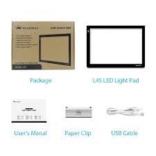 Huion A4 Light Box Huion L4s 17 7 Inches Led Light Box A4 Ultra Thin Usb