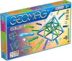 Магнитный <b>конструктор GEOMAG Glitter</b> - <b>68</b> деталей - купить по ...