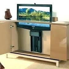 tv lift cabinet diy lifts outdoor