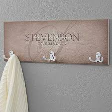 Name Coat Rack Personalized Coat Rack Heart Of Our Home 81