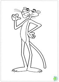 Small Picture Pink Panther Coloring page DinoKidsorg