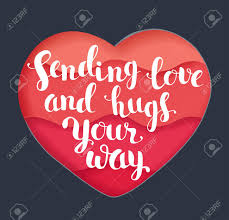 Vector Cartoo Illustration Of Valentines Card With Heart. Sending.. Royalty  Free Cliparts, Vectors, And Stock Illustration. Image 127098564.
