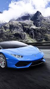 Blue Lamborghini Iphone Wallpaper