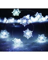 Snowflake String Lights, Multicolor New Deal Alert: Manor Lane 10-ft.
