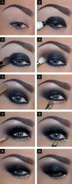 how to do dramatic smokey eyes makeup for blue eye by makeup tutorials at