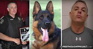 Animal Cop Highly Decorated Cop Charged With 20 Counts Of Raping Dogs