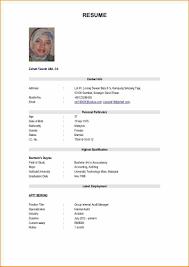 15 Biodata Format Job Application Defaulttricks Com