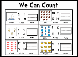 Math - Numbers & Operations - Counting - Common Core State ...