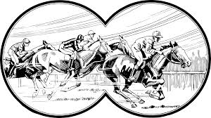 horse racing clipart. Wonderful Racing Horse Racing In Clipart A