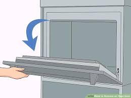 oven door image titled remove an oven door step oven door locked self clean oven door image titled clean