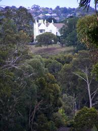 winty calder yallambie banyule homestead seen from viewbank homestead site at dusk 2015