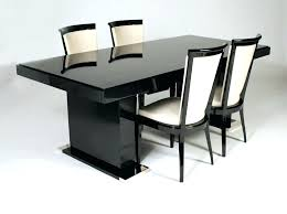 italian lacquer dining room furniture. Italian Lacquer Dining Room Furniture Black Table Set