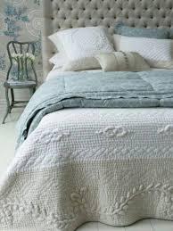 green bedding bed linen bedroom