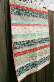 Best 25+ Strip quilts ideas on Pinterest   Strip quilt patterns ... & This is a quilt I wish my grandma would make me! I love that bicycle fabric  and the simple stripe pattern. Adamdwight.com