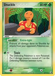 Shuckle Pokemon Evolution Chart