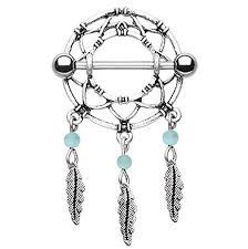 Dream Catcher Nipple Rings
