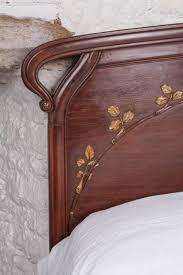 lovely art nouveau style king size bed