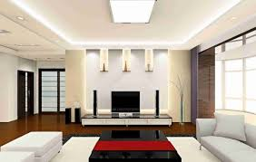 False Ceiling Design For Rectangular Living Room Living Room