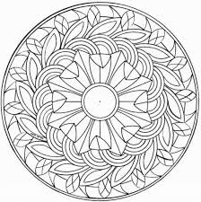 Coloring Pages For Middle Schoolers Free Printable On Fun Flower