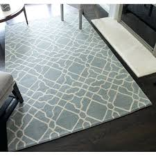 geometric hand tufted wool light blue area rug reviews birch lane ashley rugs signature design by furniture rugs area