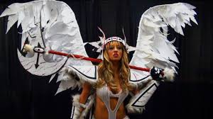 how to make your own angel wings for a costume