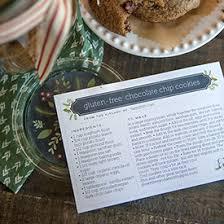 Christmas Recipe Card Printable Christmas Recipe Cards