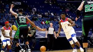 Pelicans vs. Celtics Slo-Mo Highlights 2/21/21