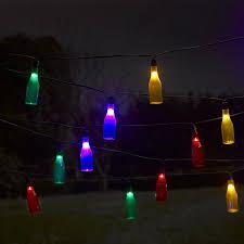 smart outdoor lighting. Smart Garden Solar Bottle String Lights, 16 Multi Colour LED Outdoor Lighting A