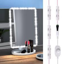 Mirrors With Lights Around Them Geekhom Vanity Mirror Lights Led Makeup Light Strip