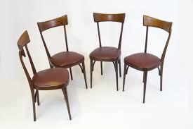 mid century italian gany dining chairs set of 4