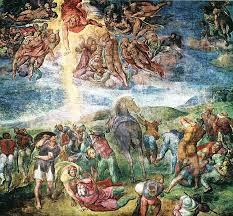 the conversion of saul michelangelo