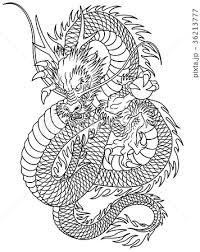 龍のイラストのイラスト素材 36213777 Pixta