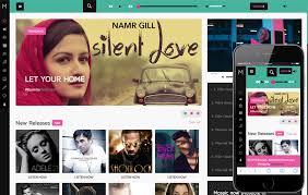 Video Website Template Amazing Video Content Portal Mobile Web Templates